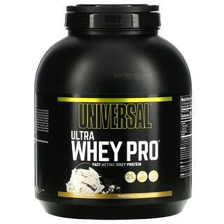 Universal Nutrition, Ultra Whey Pro, Protein Powder, Cookies & Cream, 5 lb (2.27 kg)