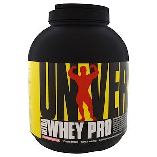 Universal Nutrition, ألترا واي برو، مكمل البروتين، الفراولة والموز، 5 رطل (2.3 كجم)