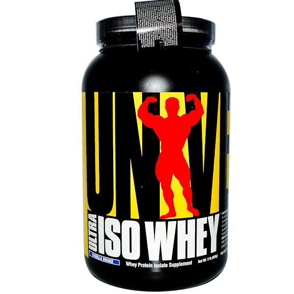 Universal Nutrition, Ultra Iso Whey, Vanilla Shake, 2 lbs (909 g) (Discontinued Item)