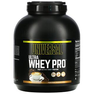 Universal Nutrition, Ultra Whey Pro 蛋白質粉,抹茶卡布奇諾味,5 磅(2.27 千克)