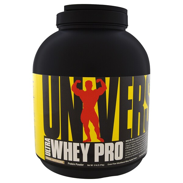 Universal Nutrition, Ultra Whey Pro، كابتشينو موكا، 5.0 رطل (2.27 كغم)
