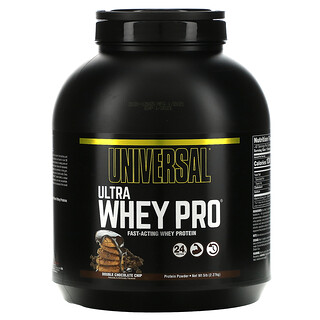 Universal Nutrition, Ultra Whey Pro, Protein Powder, Double Chocolate Chip, 5 lb (2.27 kg)
