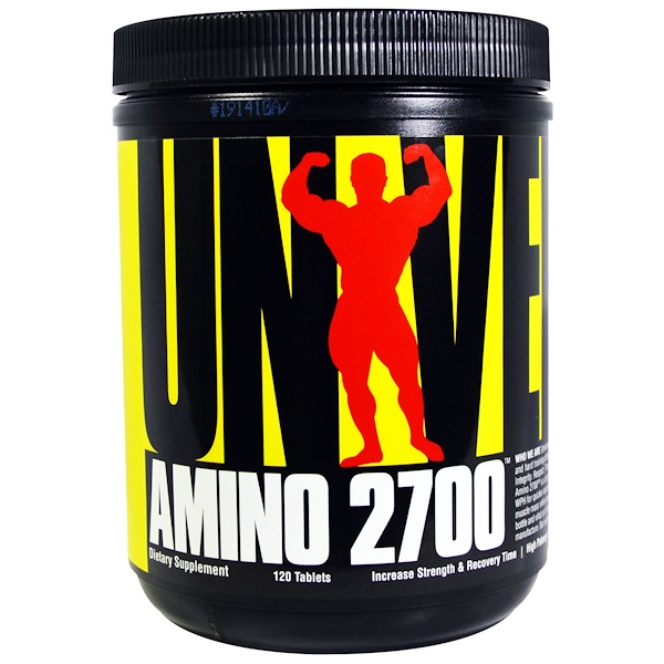 Universal Nutrition, Amino 2700, 120 Tablets (Discontinued Item)