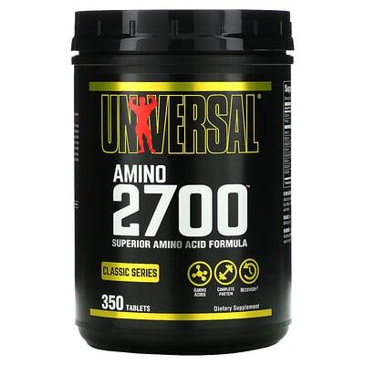 Купить Universal Nutrition Amino 2700, добавка с аминокислотами, 350таблеток