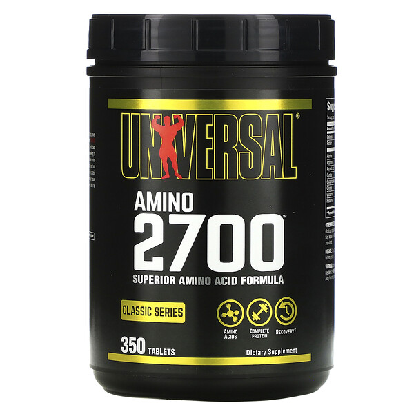 Universal Nutrition, Amino 2700, 350 Tablets