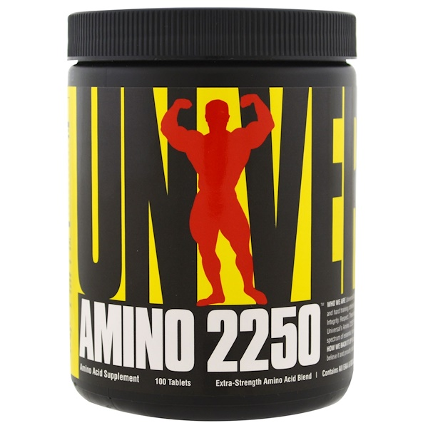 Universal Nutrition, Amino 2250, 100 Tablets (Discontinued Item)