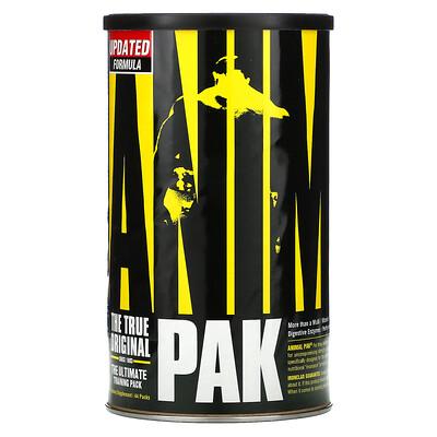 Купить Universal Nutrition Animal Pak, комплекс для физической активности, 44пакетика