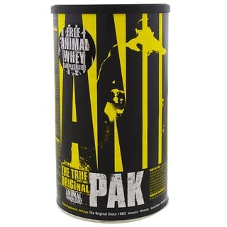 Universal Nutrition, Animal Pak, Training Supplement, 44 Pacotes
