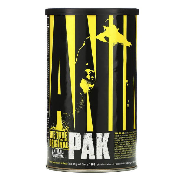 Universal Nutrition, Animal Pak, Training Packs, 44 Packs