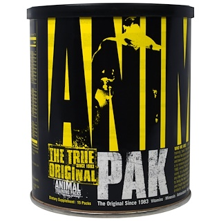 Universal Nutrition, Animal Pak, Training Supplement, 15 Packs