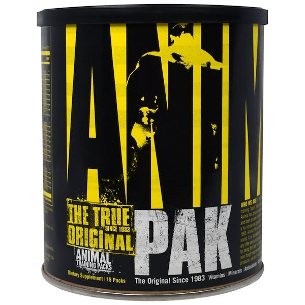 Universal Nutrition, Animal Pak, Training Supplement, 15 Packs (Discontinued Item)