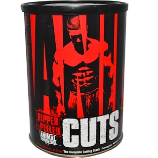 Universal Nutrition, Animal Cuts, Ripped & Peeled, Suplemento para Treinamento, 42 Pacotes