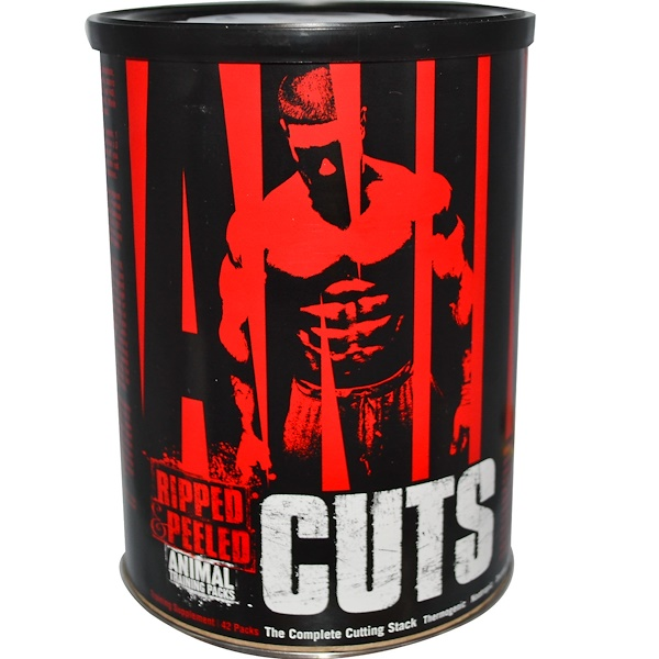 Universal Nutrition, Animal Cuts,訓練補充劑,42袋