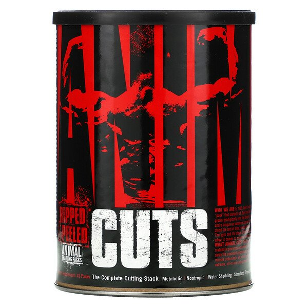 Animal Cuts, Ripped & Peeled, 42 Packs