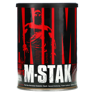 Universal Nutrition, Animal M-Stak, Hard Gainer's Training Pack, 21 Packs