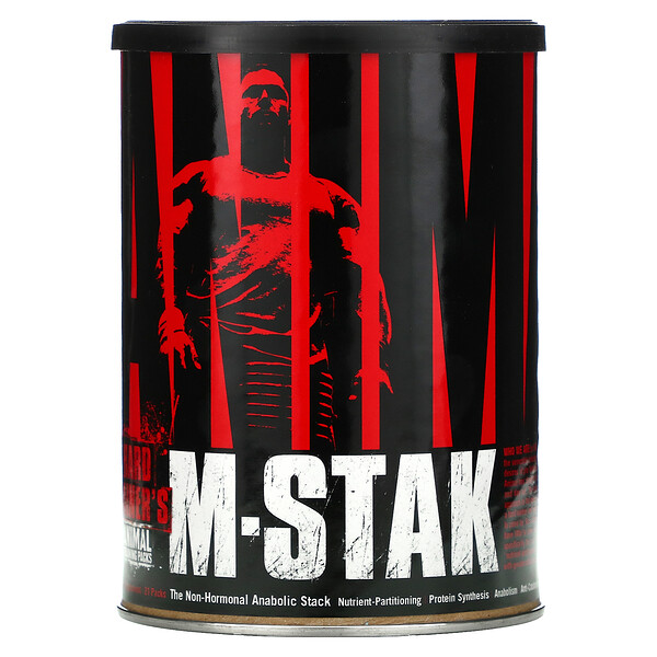 Universal Nutrition, Animal M-Stak, Hard Gainer's Training Pack, 21 Packs