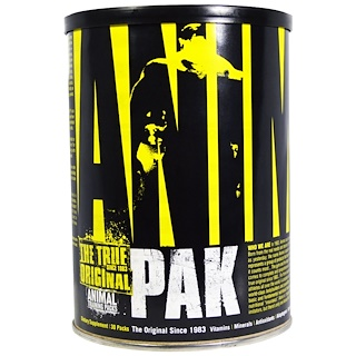 Universal Nutrition, Animal Pak, The True Original, Animal Training Packs, 30 Packs