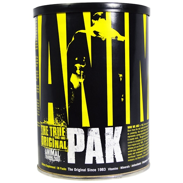 Universal Nutrition, Animal Pak、The True Original、Animal Training Packs、30 Packs