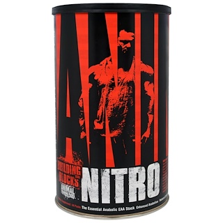 Universal Nutrition, Animal Nitro, The Essential Anabolic EAA Stack, 44 Packs