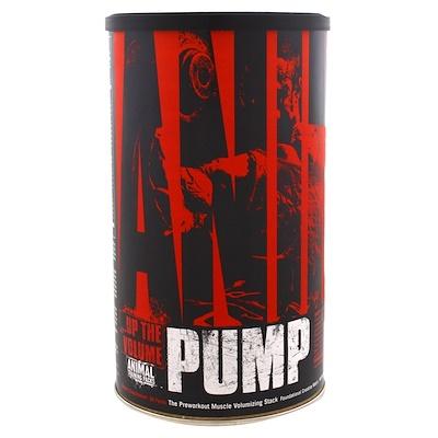 цена на Animal Pump, Добавка для увеличения объема мыш перед тренировкой, 30 пакетиков