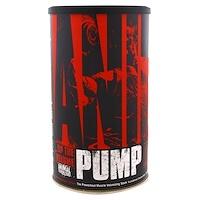 Animal Pump, Добавка для увеличения объема мыш перед тренировкой, 30 пакетиков - фото