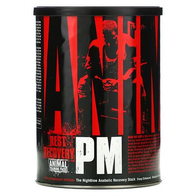 Купить Universal Nutrition AnimalPM, ночная добавка для усиления синтеза белка, 30пакетиков