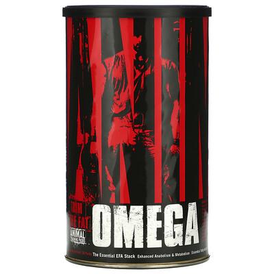 Купить Universal Nutrition Animal Omega, комплекс незаменимых жирных кислот, 30саше