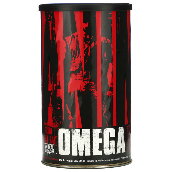 Animal Omega, The Essential EFA Stack, 30 Packs