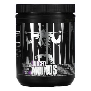 Universal Nutrition, Animal verstärktes BCAA, Juiced Aminos, Weintraube, 376g