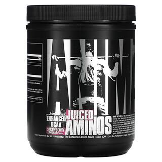 Universal Nutrition, Animal Juiced Aminos, Erdbeer-Limetten-Geschmack, 366 g (12,9oz.)