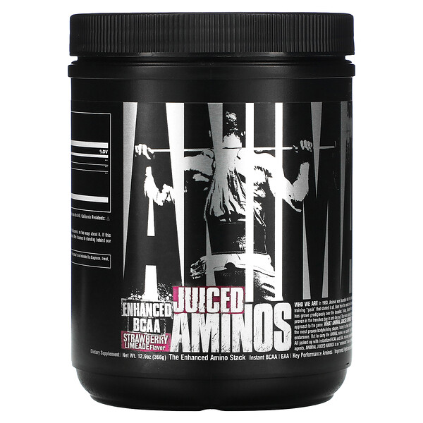Animal Juiced Aminos, Strawberry Limeade, 12.9 oz (366 g)