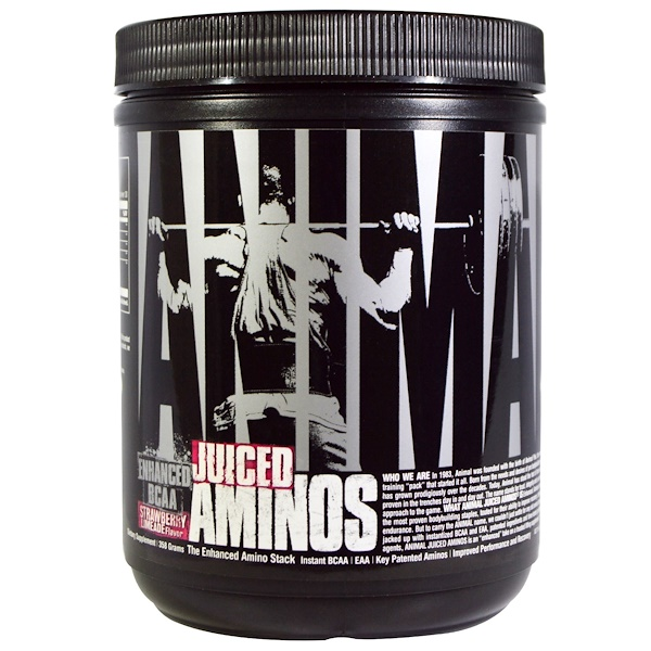 Animal Juiced Aminos, Strawberry Limeade Flavor, 358 g