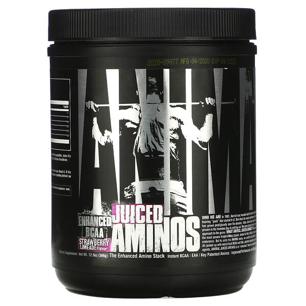 Animal Juiced Aminos, Strawberry Limeade Flavor, 358 g