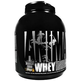 Universal Nutrition, Animal Whey, Muscle Food, Cookies & Cream, 4 lbs (1.81 kg)