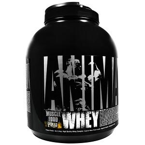 Юниверсал Нутришэн, Animal Whey, Muscle Food, Cookies & Cream, 4 lbs (1.81 kg) отзывы