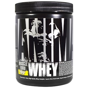 Юниверсал Нутришэн, Animal Whey Muscle Food, Banana Cream, 128.6 g отзывы
