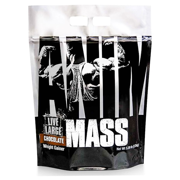 Universal Nutrition, Animal Mass, Chocolate, 5.09 lb (2.3 kg) (Discontinued Item)