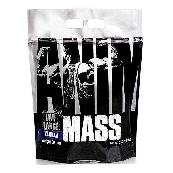 Universal Nutrition, Animal Mass, Vanilla, 5.09 lb (2.3 kg) (Discontinued Item)