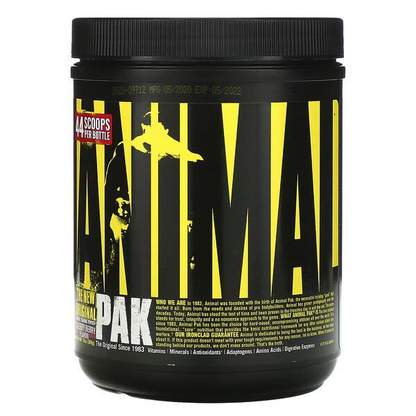 Animal Pak, Training Powder, Cherry Berry, 369 g