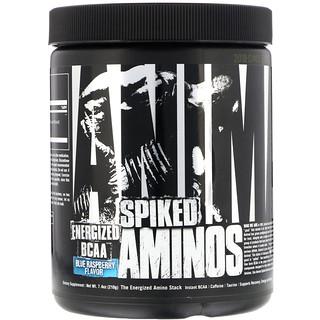 Universal Nutrition, Aminos Spiked Animal، التوت الأزرق، 7.4 أوقية (210 غرام)