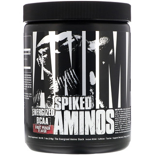 Universal Nutrition, Animal Spiked Aminos, Fruit Punch, 7.4 oz (210 g)
