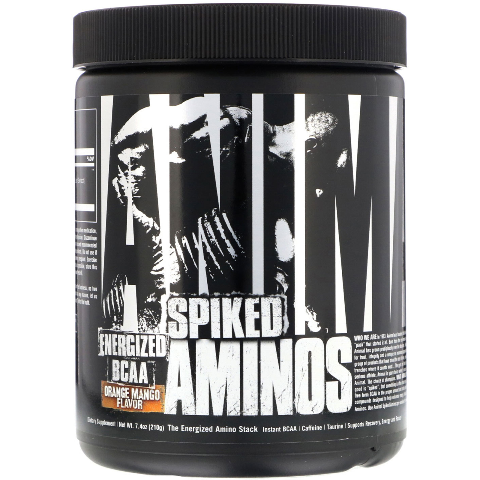 Universal Nutrition, Animal Spiked Aminos, Orange Mango, 7 4