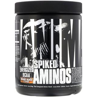 Universal Nutrition, Aminos Spiked Animal، البرتقال بالمانجو، 7.4 أوقية (210 غرام)