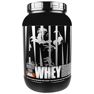 Universal Nutrition, Animal Whey, Muscle Food, Salted Caramel, 2 lbs (907 g)