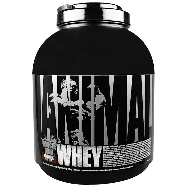 Universal Nutrition, Animal Whey, Muscle Food, Brownie Batter, 4 lbs (1.81 kg) (Discontinued Item)