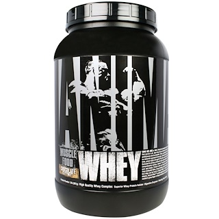 Universal Nutrition,  Animal Whey, Muscle Food, Chocolate Coconut, 2 lbs (907 g)