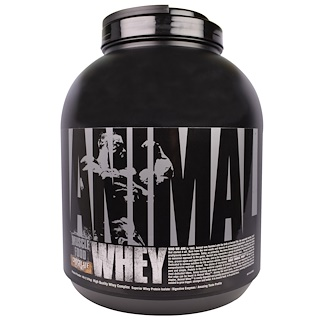 Universal Nutrition, Animal Whey, Muscle Food, Chocolate Coconut, 4 lb (1.81 kg)
