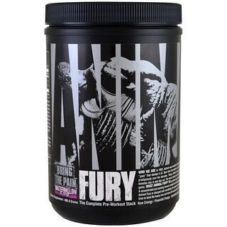 Universal Nutrition, Animal Fury، مصفوفة ما قبل التدريب الكاملة، بطيخ، 480.9 غ
