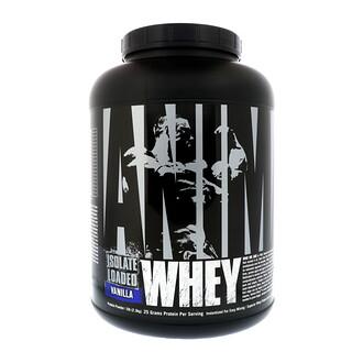 Universal Nutrition, Animal Whey Isolate Loaded, Vanilla, 5 lb (2.3 kg)