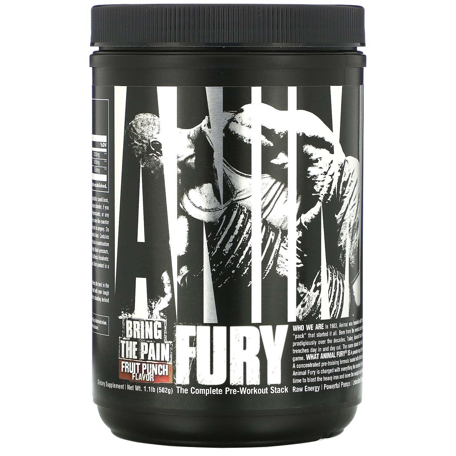 Animal Fury 480g